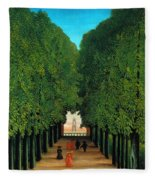 The Avenue In The Park At Saint Cloud    Fleece Blanket