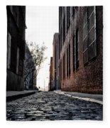 The Back Alley Fleece Blanket