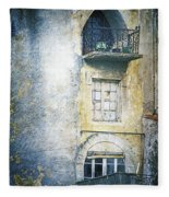 The Balcony Scene Fleece Blanket