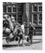The Balloon Seller Mono Fleece Blanket