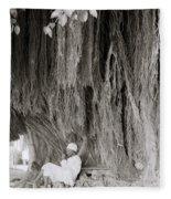 The Banyan Tree Fleece Blanket
