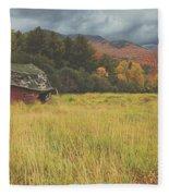 The Barn Fleece Blanket