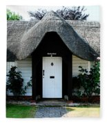 The Barn House Door Nether Wallop Fleece Blanket