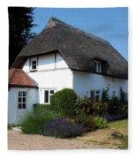 The Barn House Nether Wallop Fleece Blanket