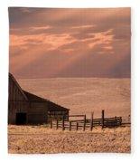The Barn Lot Fleece Blanket