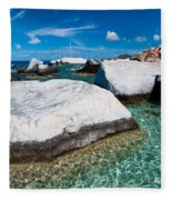 The Baths Fleece Blanket