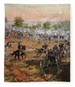 The Battle Of Gettysburg, July 1st-3rd Fleece Blanket