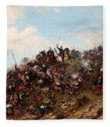 The Battle Of Trevino Fleece Blanket