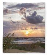 The Beach Part 3 Fleece Blanket