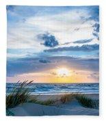 The Beach Part 4 Fleece Blanket