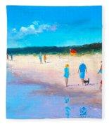 The Beach Walkers Fleece Blanket