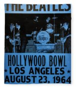 The Beatles Live At The Hollywood Bowl Fleece Blanket