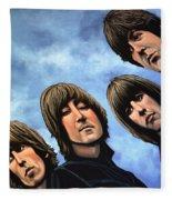 The Beatles Rubber Soul Fleece Blanket