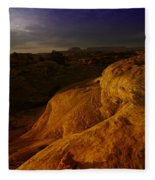 The Beauty Of Canyonlands Fleece Blanket