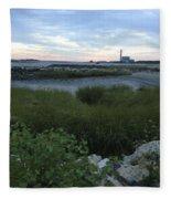 The Beauty Of Connecticut's Shoreline Fleece Blanket