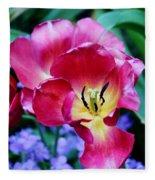 The Beauty Of Flowers Fleece Blanket