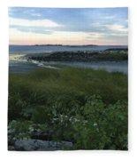 The Beauty Of Long Island Sound Fleece Blanket