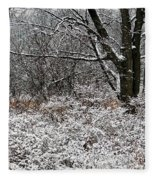 The Beauty Of Winter Fleece Blanket