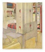 The Bedroom, Published In Lasst Licht Fleece Blanket