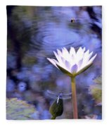The Bee And The Dragonfly Fleece Blanket