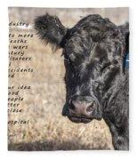 The Beef Industry Fleece Blanket