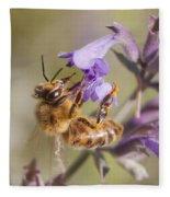 The Bee's Knees Fleece Blanket