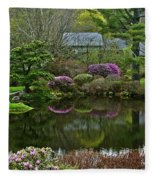 The Beginning Of Spring Fleece Blanket