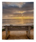 The Bench Iv Fleece Blanket
