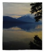 The Bend Before Paradise Fleece Blanket
