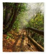The Benton Trail Fleece Blanket