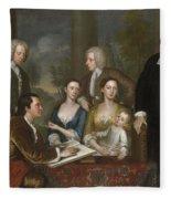 The Bermuda Group, Dean Berkeley And His Entourage, 1728 Fleece Blanket