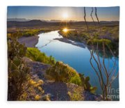 The Big Bend Fleece Blanket