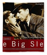 The Big Sleep  Fleece Blanket