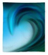 The Big Wave Of Hawaii 3 Fleece Blanket
