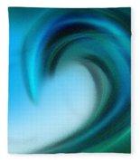 The Big Wave Of Hawaii 4 Fleece Blanket