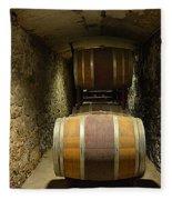 The Biltmore Estate Wine Barrels Fleece Blanket