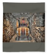 The Biltmore Estate Wine Barrels Fleece Blanket