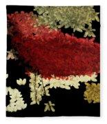 The Bird - V1102b02 Fleece Blanket