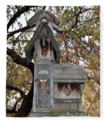 The Birdhouse Kingdom - Black-headed Grosbeak Fleece Blanket