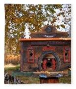 The Birdhouse Kingdom - Red-naped Sapsucker Fleece Blanket