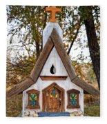 The Birdhouse Kingdom - Steller's Jay Fleece Blanket
