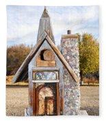 The Birdhouse Kingdom - The American Coot Fleece Blanket
