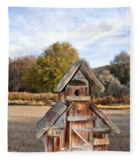 The Birdhouse Kingdom - The American Dipper Fleece Blanket