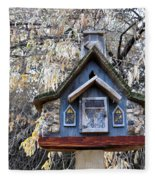 The Birdhouse Kingdom - The Cordilleran Flycatcher Fleece Blanket