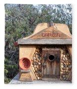 The Birdhouse Kingdom - The Evening Grosbeak Fleece Blanket
