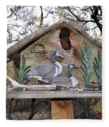 The Birdhouse Kingdom - The Geese A Swimming Fleece Blanket