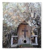 The Birdhouse Kingdom - The Olive-sided Flycatcher Fleece Blanket