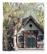 The Birdhouse Kingdom - The Western Tanager Fleece Blanket