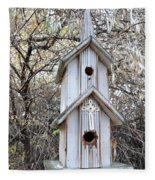 The Birdhouse Kingdom - The Western Wood-pewkk Fleece Blanket