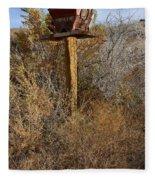 The Birdhouse Kingdom - Western Kingbird Fleece Blanket